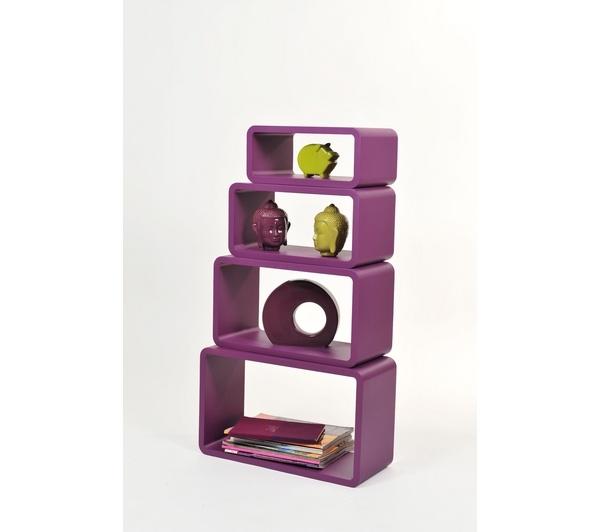 Modular bookcase by Enzo Frateili