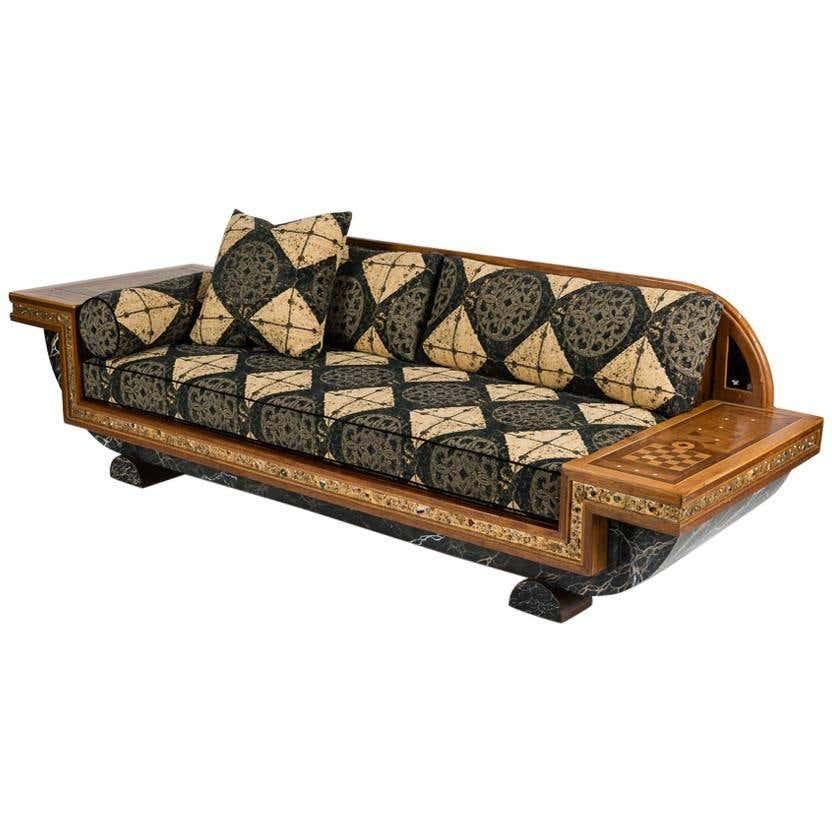 Pucci De Rossi, Sofa in the Orientalist Style, France, 1984