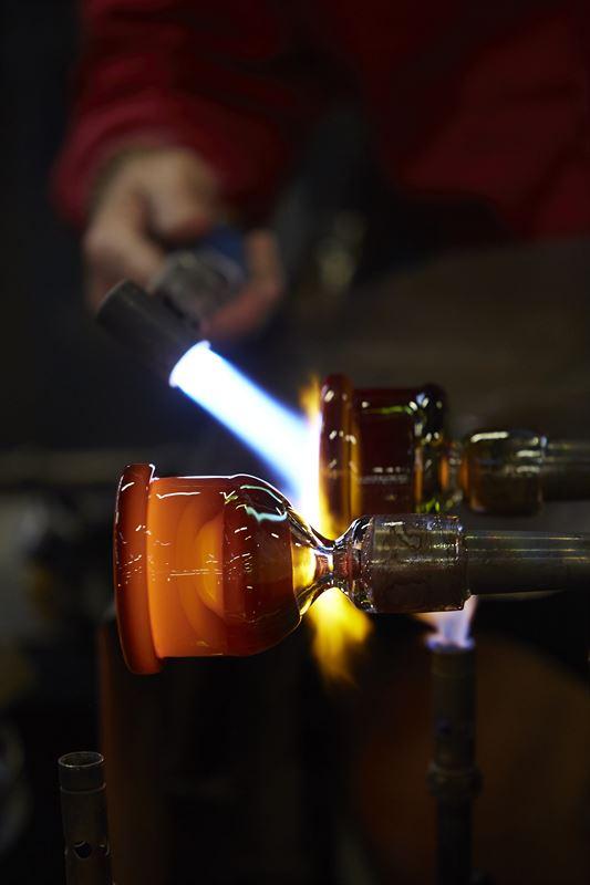 Orrefors glassmaking