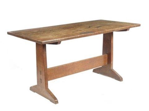 Hall table by Peter van der Waals