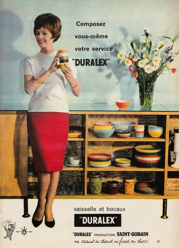 Saint-Gobain Duralex french poster advertisement