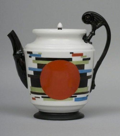 Nikolai Mikhailovich Suetin Coffee pot (1923)