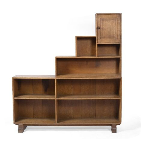 Open bookcase by Peter van der Waals