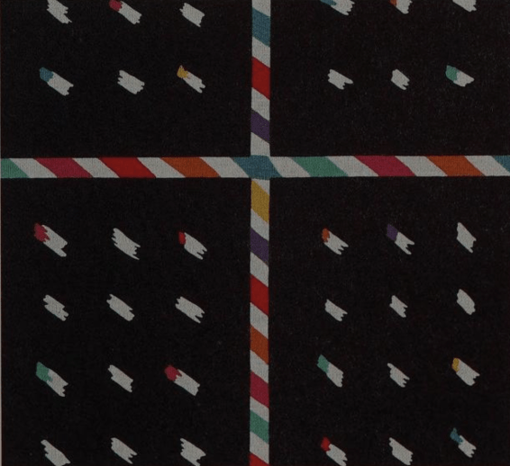 """""""Space Age"""" fabric 1982 by Masakazu Kobayashi"""