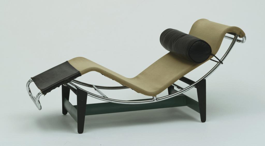 Le Corbusier (Charles-Édouard Jeanneret), Pierre Jeanneret, Charlotte Perriand Chaise Longue (LC/4) 1928