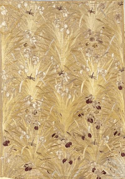 Irises Panel by Candace Wheeler 1883