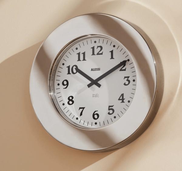 Momento Wall clock by Aldo Rossi.