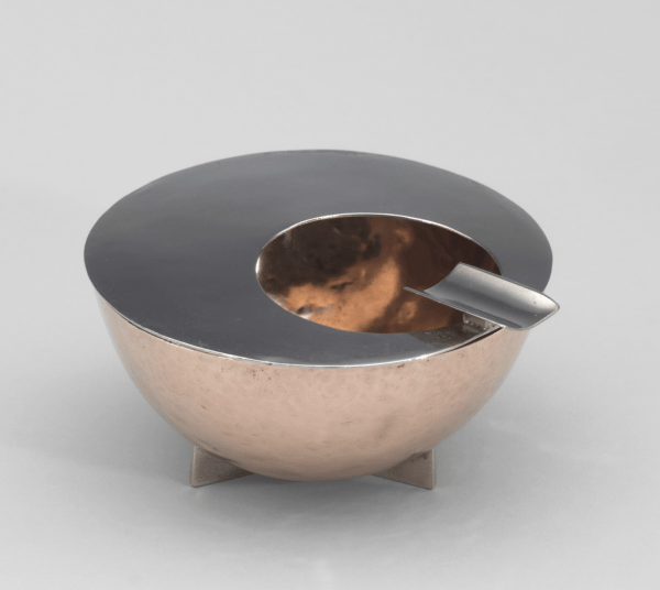 Ashtray designed by Marianne Brandt
