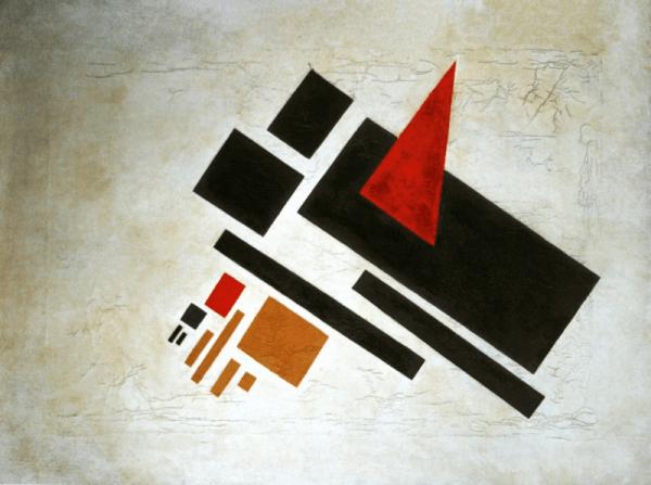 Suprematism pattern by Nikolai Suetin