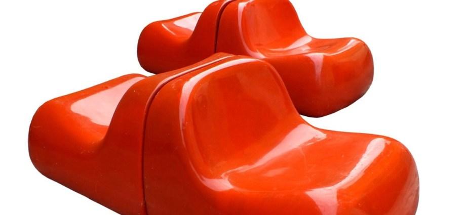 Vintage armchair Jumbo fibreglass
