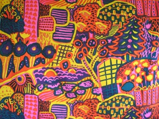 Textile design by Katsuji Wakisaka