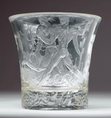 "Jaroslav Horejc (1886 Prague 1983), A Bacchus vase ""Dance"", designed c. 1925"