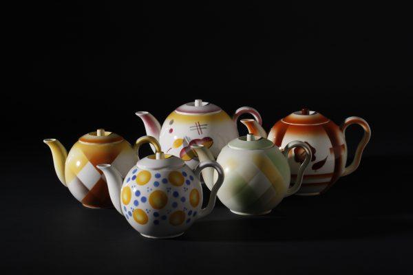 Eva Zeisel ceramic teapots