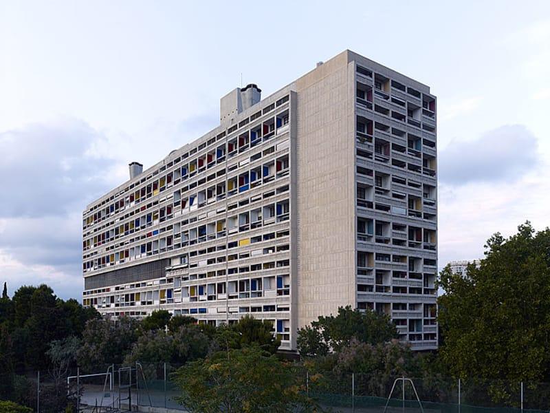 Unité d'habitation, Marseille, France, 1945