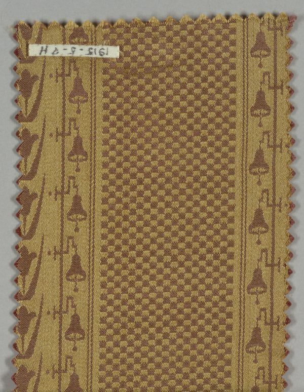 Silk sample manufactured by Cheney Brothers - Cooper Hewitt
