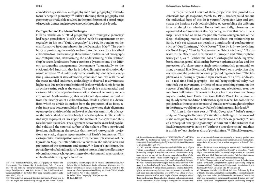 R. Buckminster Fuller: Pattern-Thinking sample page