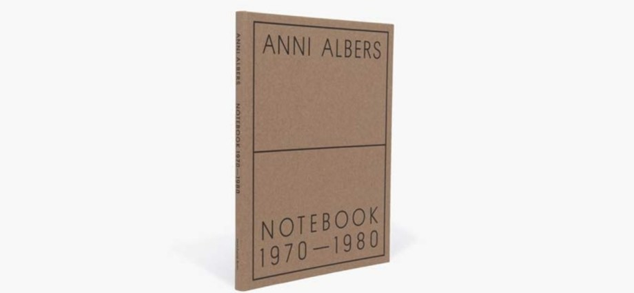 Anni Albers notebook cover featured image