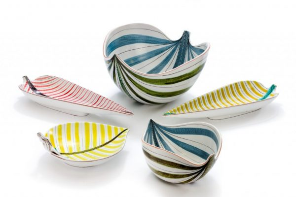 Ceramic bowls by Stig Lindberg