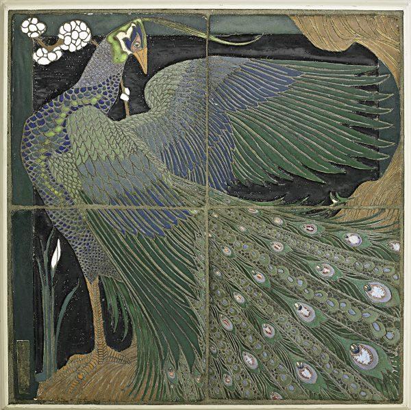 Frederick Hurten Rhead-Tile