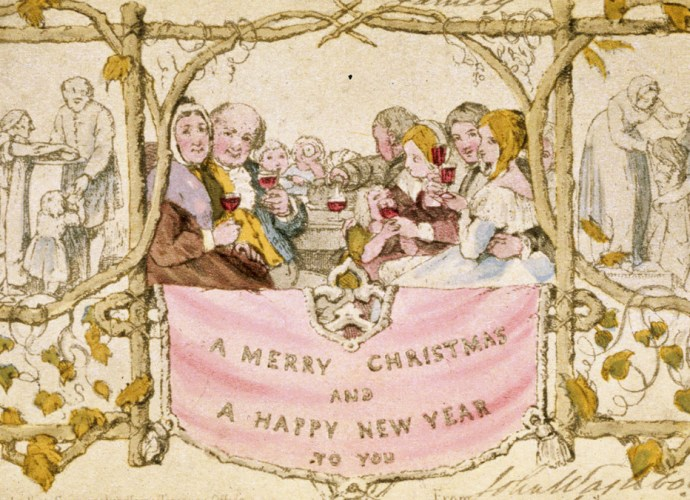 Henry Cole Christmas Card featured image