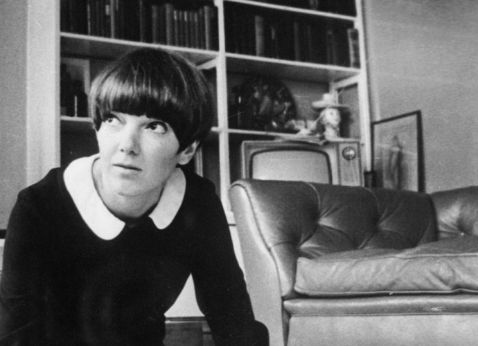 Mary Quant black and white image