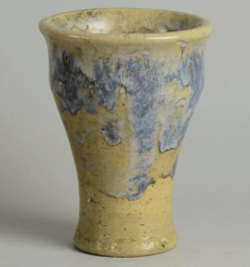 Unique stoneware vase by Aune Siimes 1943