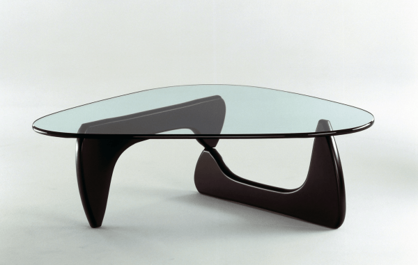 Coffee Table (IN-50), 1944 Glass and wood by Isamu Noguchi