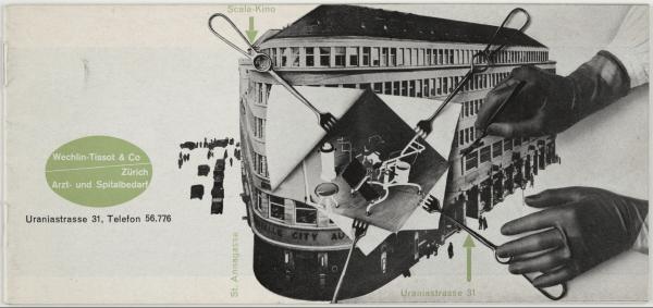 Max Bill Wechlin-Tissot & Co, Zürich, Artz- und Spitalbedarf 1930s