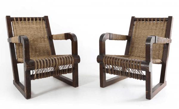 Art Deco Armchair by Francis Jourdain, 1930s