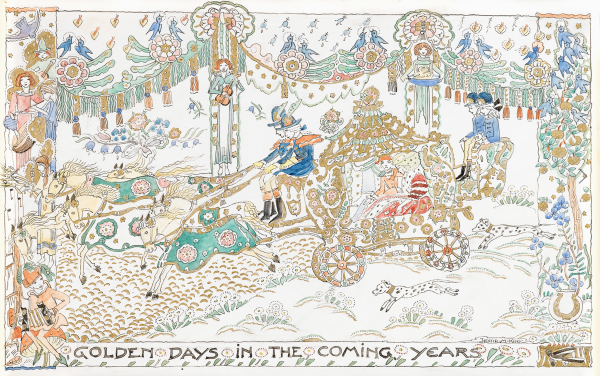 Golden Days in the Coming Years by Jessie Marion King