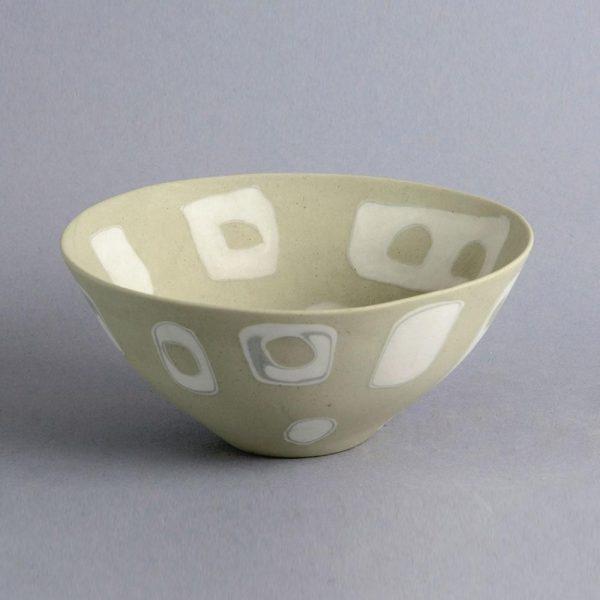 Aune Siimes for Arabia Unique nerikomi bowl