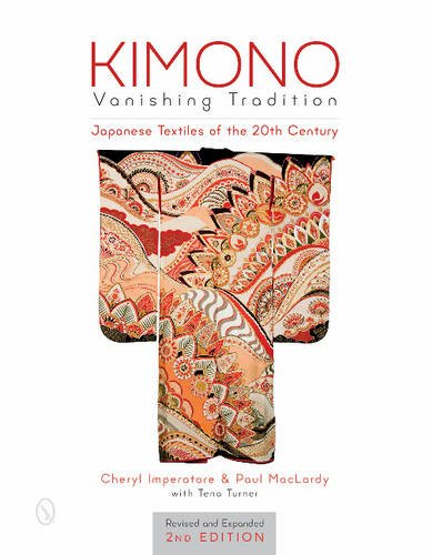 Kimono, Vanishing Tradition: Japanese Textiles of the 20th Century. Cover Art