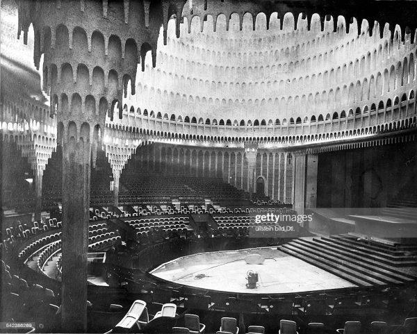 Grosses Schauspielhaus Berlin, Hans Poelzig, 1919