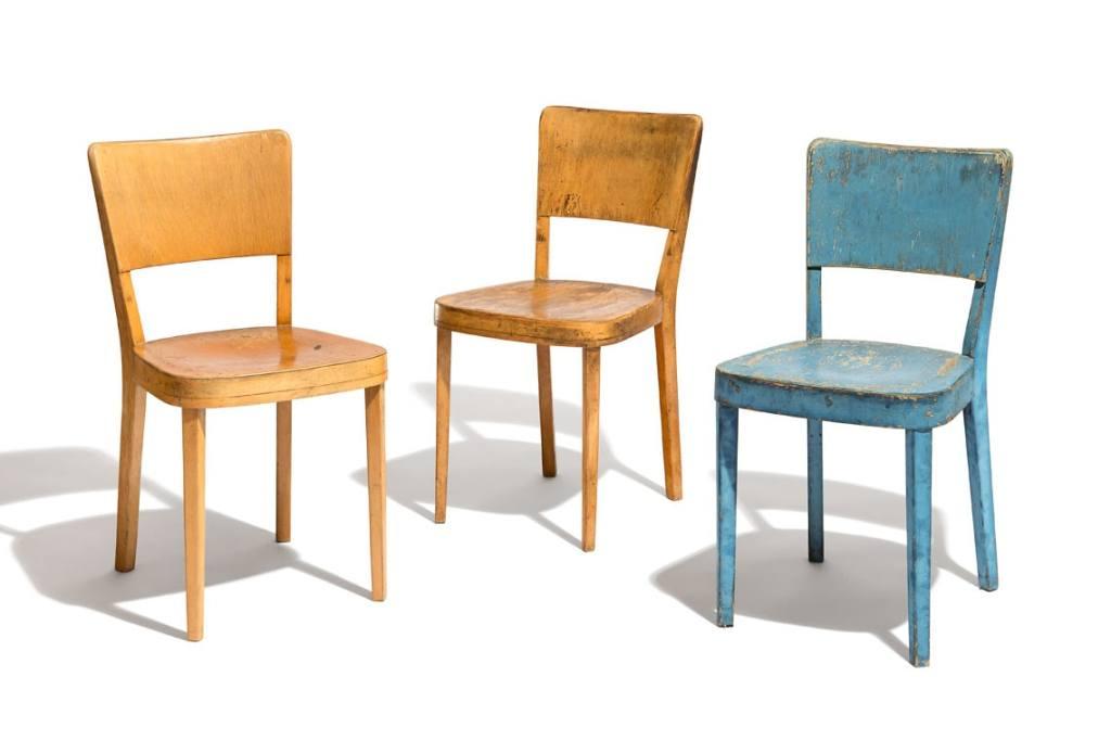 Haefeli chairs 1926 by Max Ernst Haefeli