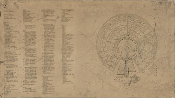 Palais de la Découverte Project, Paris, France (Plan of upper level and exhibits)