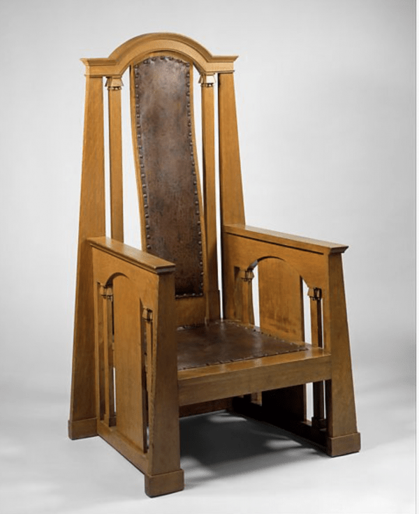 Armchair c1914 designed by George Washington Maher