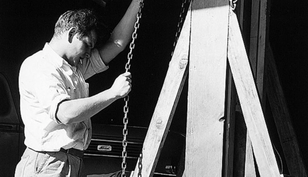 Don Albinson black and white photo