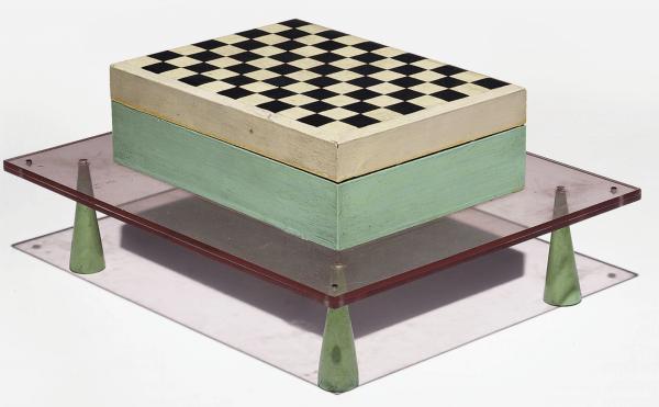 Chiquier Box, single piece 1979 by Studio Alchimia