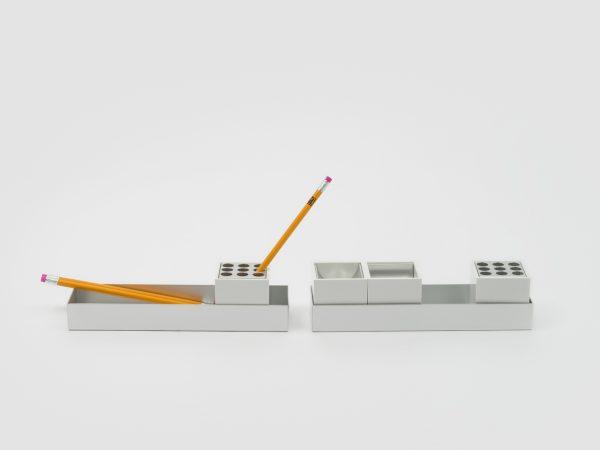Canarie Desk Set for Danese 1958 designed by Bruno Manari