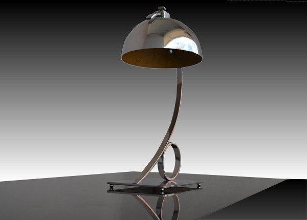 French modernist lamp for Damon (1933)