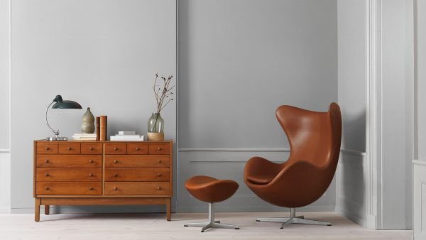 Egg Lounge chair designed by Arne Jacobsen, 1958