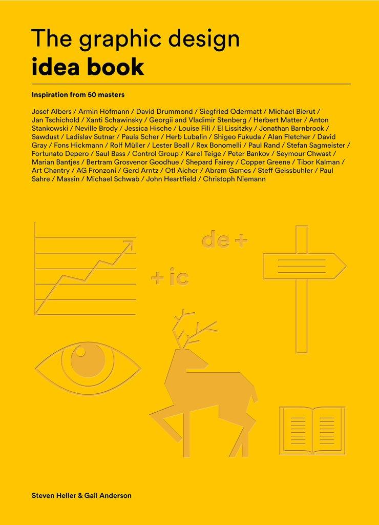 The graphic design idea book cover art
