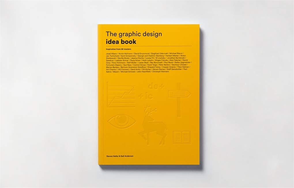 The graphic design idea book sample page