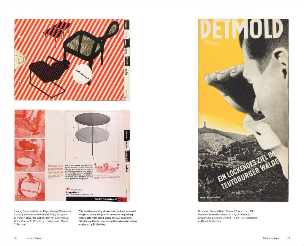 Herbert Bayer: Inspiration and Process in Design sample page