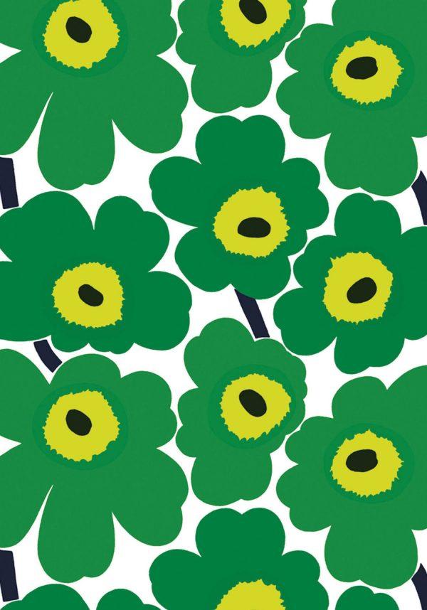 Marrimekko Journal poppy pattern