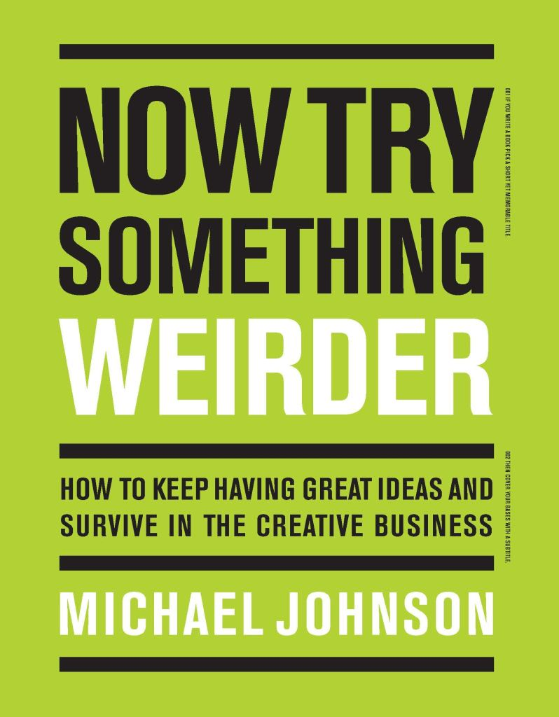 Now Try Something Weider by Michael Johnson cover art