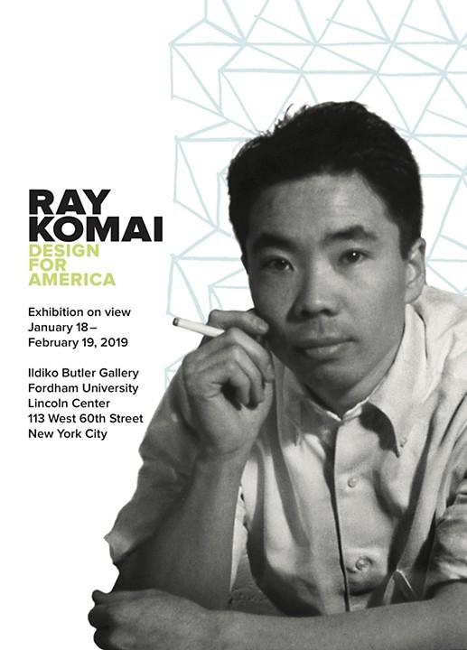 Ray Komai design for America poster