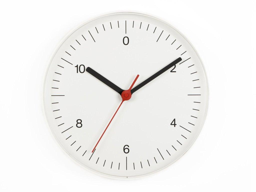 Wall Clock 2008 designed by Jasper Morrison