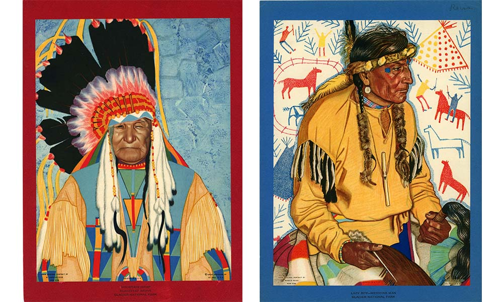 Native American Art by Winold Reiss