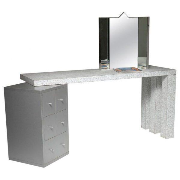 Antonia Astori Wood Dione Driade Italian Desk Writing Table